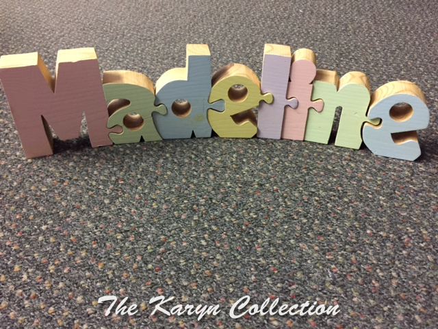 Madeline's Interlocking Puzzle