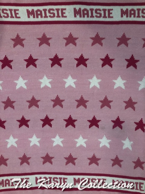 *EXCLUSIVELY OURS - Maisie's All Stars Cotton Blanket