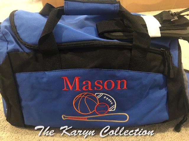 Mason's  gym bag with Shoe Pocket