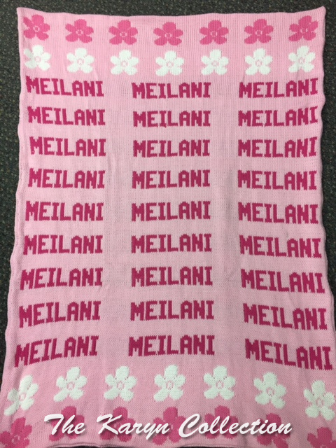 *EXCLUSIVELY OURS..MEILANI'S ALL COTTON DAISY STROLLER BLANKET