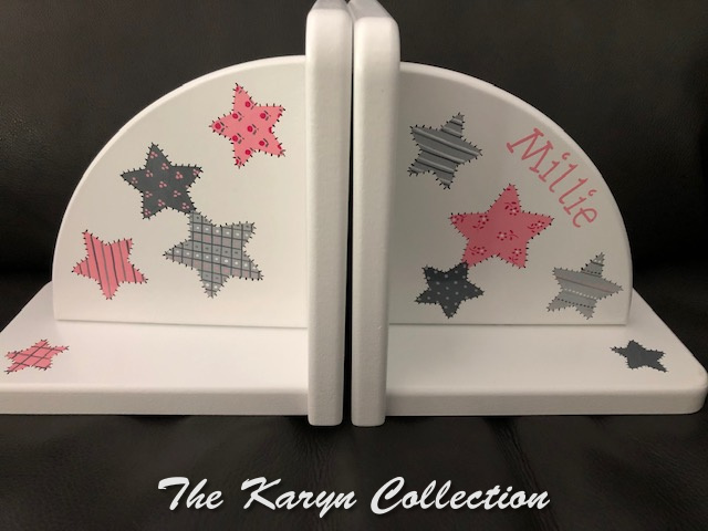 Millie's Patchwork All Star Bookends