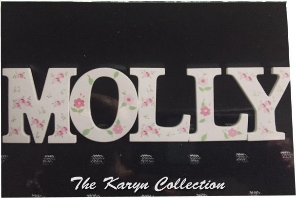 Molly's Wall Letters