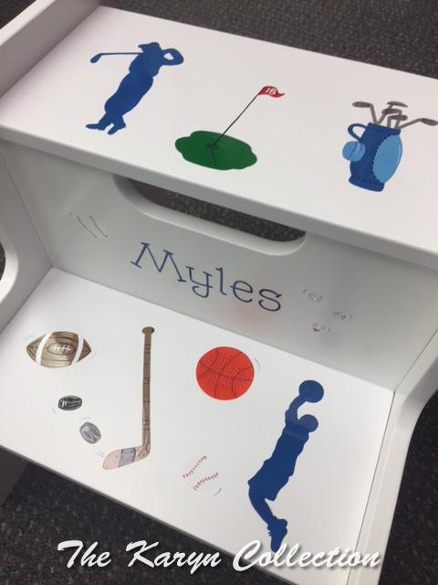Myles' Sports 2 Step Stool