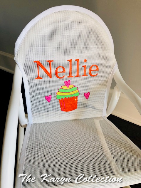 Nellie's Cupcake Rocking Chair