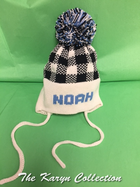 NOAH'S plaid cotton hat