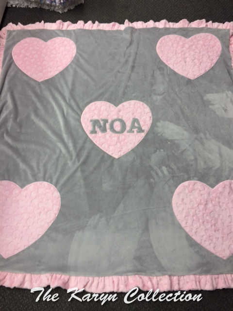 Noa's Stadium Size Minky Blanket
