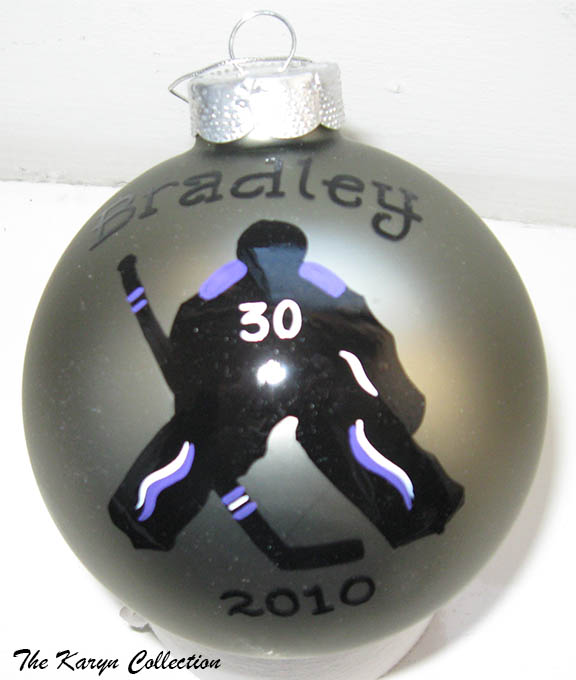 Hockey Goalie Ornament