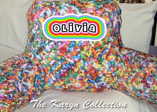 Olivia's Candy Study Pillow