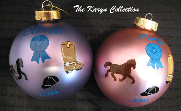 Horse Theme Ornament