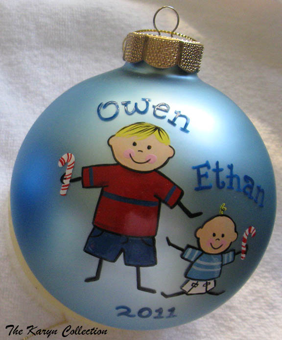 Big Brother & Little Brother Ornament