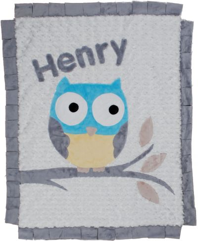 "Henry ""The Who"" Minky Blanket"