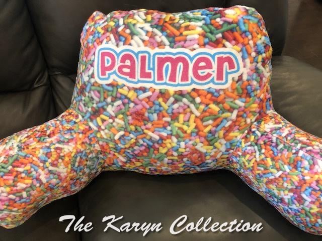Palmer's Candy Study Pillow