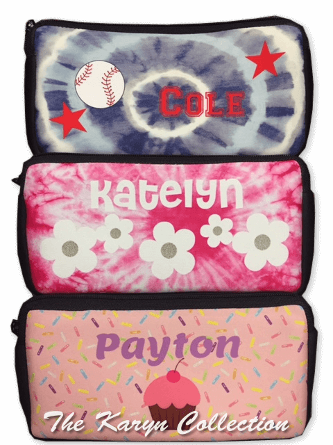 Personalized Pencil Cases