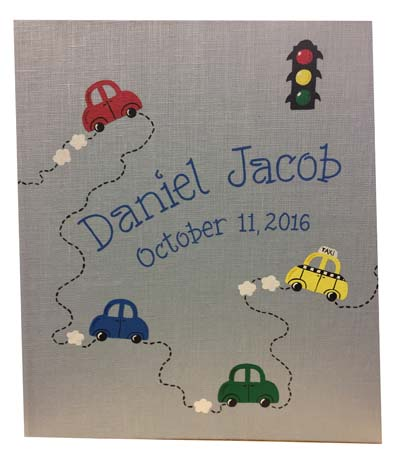 Daniel Jacob's baby book cover