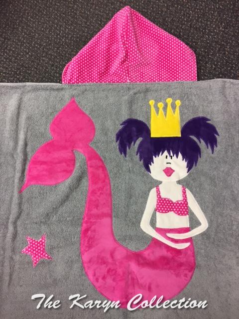 Pink Mermaid Towel