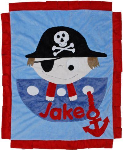 Argh! Boy Minky Blanket