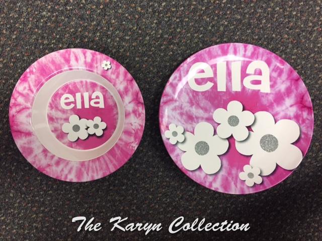 Ella's Pink Tie Dye 2-Piece Set - Oven Safe!