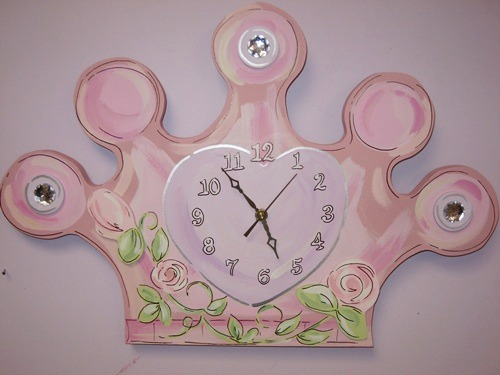 Princess Crown Clock