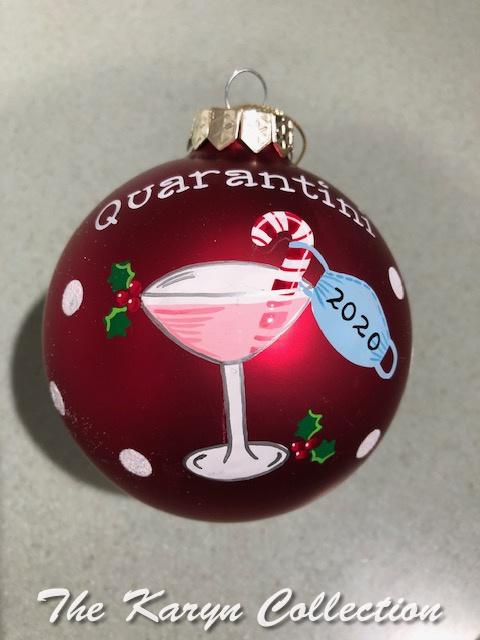 Quarantini Ornament.....