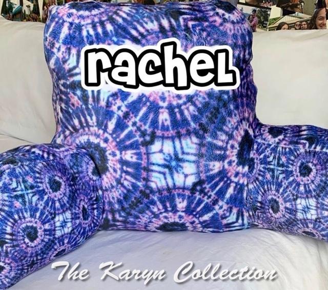 Rachel's Tie-Dye Study Pillow