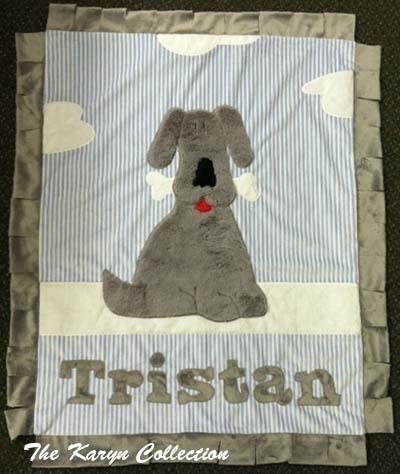 Tristan- Dog Minky Blanket