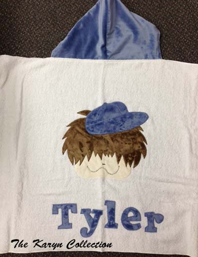 Funky Little Boy Toddler Towel
