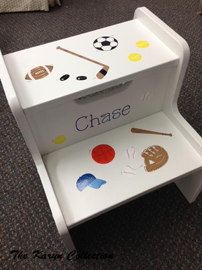 Chase Sports 2-Step Stool