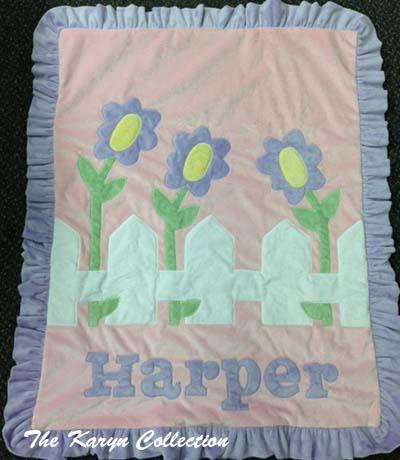 Harper- Picket Fence Blanket
