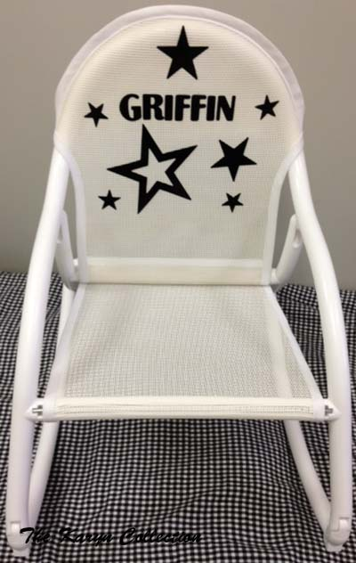 All-Stars Rocking Chair