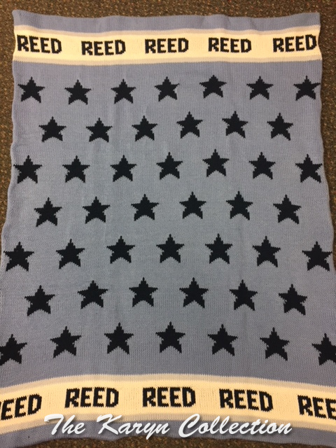 *EXCLUSIVELY OURS...REEDS ALL STARS ALL COTTON BLANKET