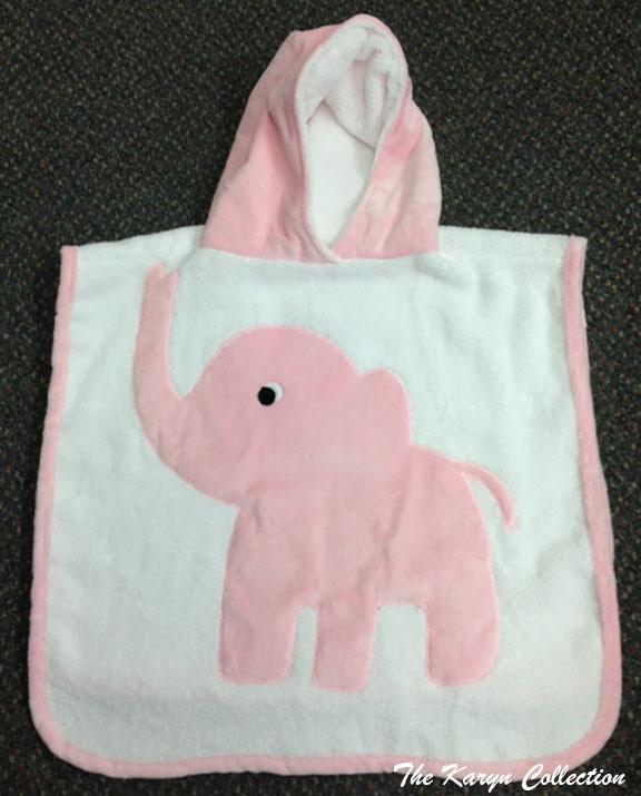 Pink Elephant Poncho