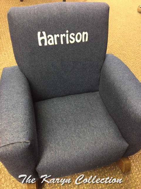Harrison's Toddler Rocker