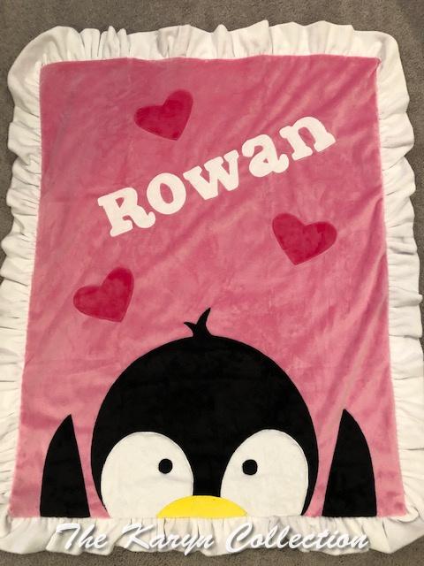 Rowan's penguin minki blanket