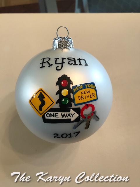 Ryan's New Driver Ornament