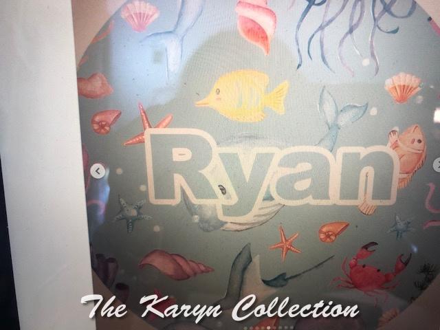 Ryan's Under the Sea Plate