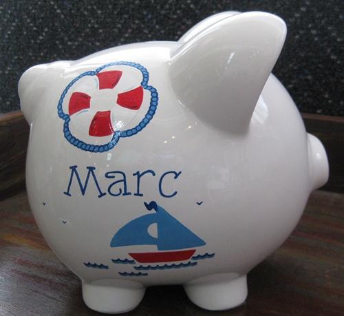 Sailing Piggy Bank
