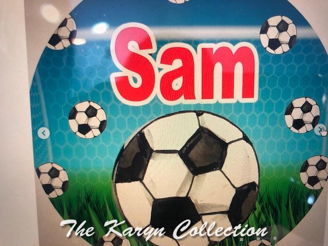 Sam's Soccer Plate