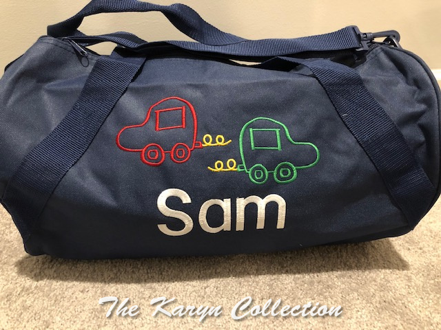 Sam's Navy Cars Duffle