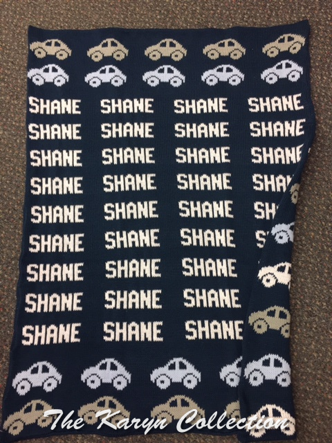 *EXCLUSIVELY OURS...Shane's Cars COTTON Blanket