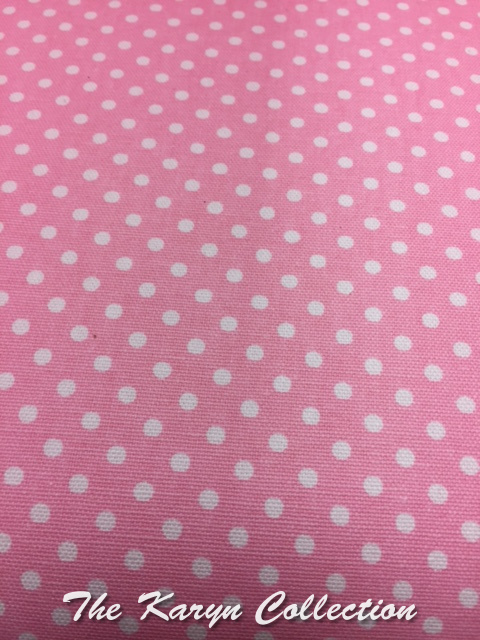 Shylee's Pink and White Polka-Dot Chair...( also available in stripe)