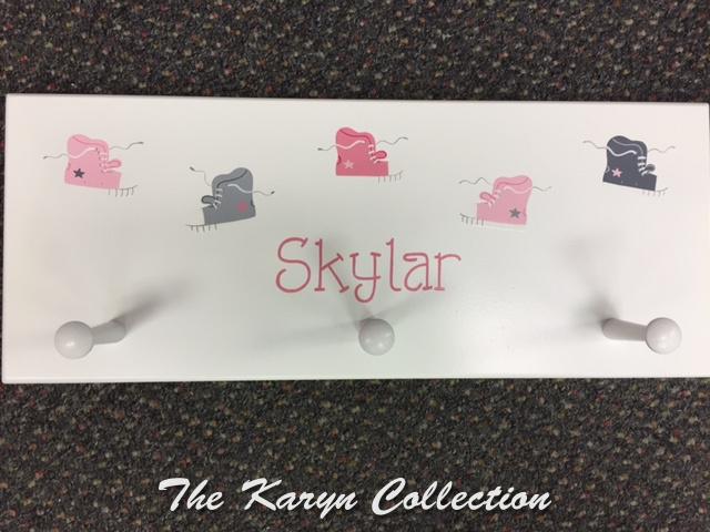 Skylar's Sneaker Wall Coat Rack
