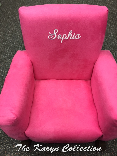 Sophia's Pink rocking  Chair