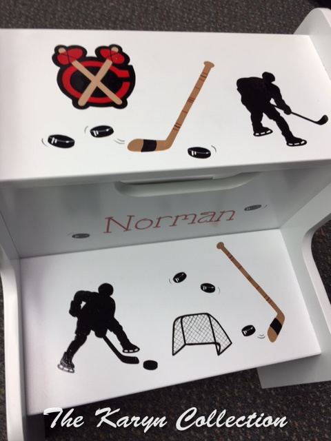 Norman's 2 step Hockey Stool