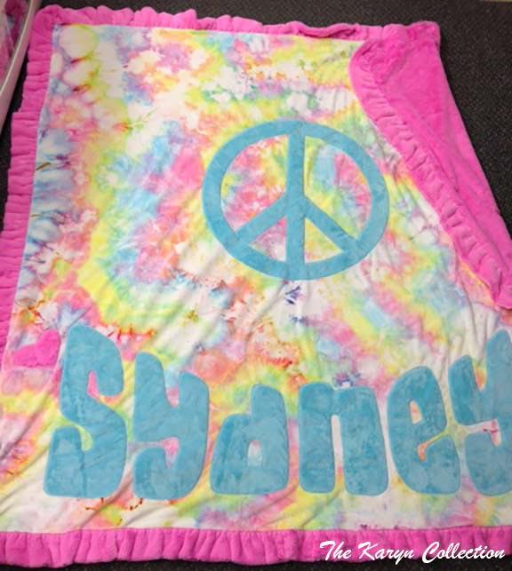 Sydney's PEACE Blanket