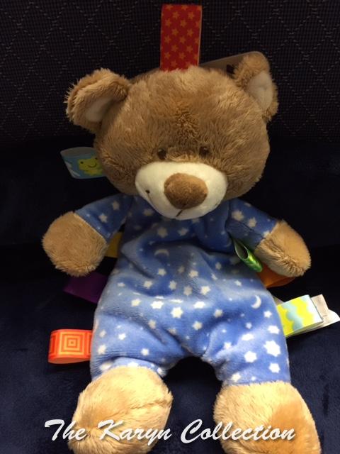 Teddy Bear Taggie Toy