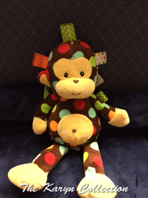 Monkey Taggie toy