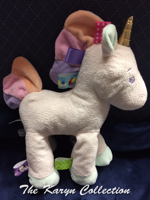 Unicorn Taggie Toy