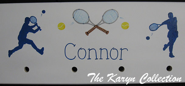 Tennis Coat Rack