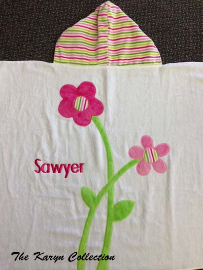 Sawyer has Flower Power