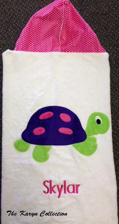 Skylar's Turtle Towel